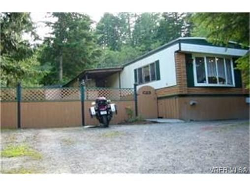 Main Photo:  in MALAHAT: ML Malahat Proper Manufactured Home for sale (Malahat & Area)  : MLS®# 441716
