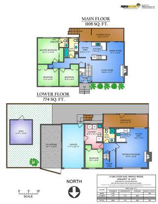 Photo 2: 21260 COOK Avenue in Maple Ridge: Southwest Maple Ridge House for sale : MLS®# R2530636