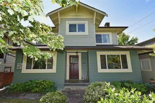 """Photo 1: 2236 E PENDER Street in Vancouver: Hastings House for sale in """"GRANDVIEW"""" (Vancouver East)  : MLS®# R2073977"""