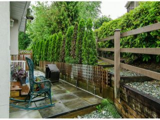 "Photo 20: 22 3902 LATIMER Street in Abbotsford: Abbotsford East Townhouse for sale in ""Country View Estates"" : MLS®# F1416425"