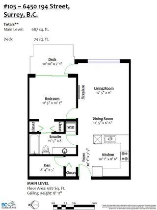 "Photo 27: 105 6450 194 Street in Surrey: Clayton Condo for sale in ""Waterstone"" (Cloverdale)  : MLS®# R2508287"