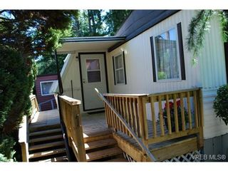 Photo 4: 1 1201 Craigflower Rd in VICTORIA: VR Glentana Manufactured Home for sale (View Royal)  : MLS®# 738635