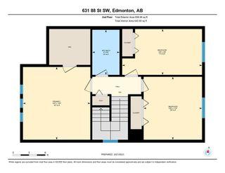 Photo 38: 631 88 Street in Edmonton: Zone 53 House for sale : MLS®# E4262584