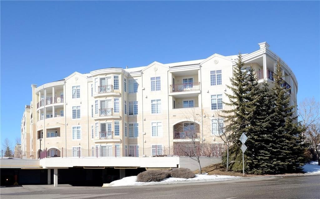 Main Photo: 124 5201 DALHOUSIE Drive NW in Calgary: Dalhousie Apartment for sale : MLS®# C4171584