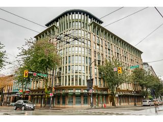 Photo 1: 401 1 E CORDOVA Street in Vancouver: Downtown VE Condo for sale (Vancouver East)  : MLS®# V1090568