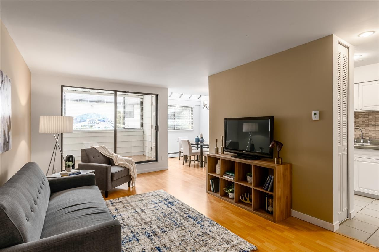 Photo 1: Photos: 207 225 SIXTH STREET in New Westminster: Queens Park Condo for sale : MLS®# R2440981