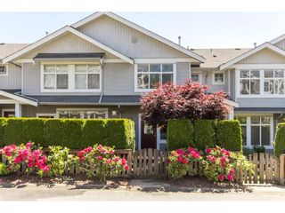 """Photo 1: 73 20449 66 Avenue in Langley: Willoughby Heights Townhouse for sale in """"Natures Landing"""" : MLS®# R2174039"""