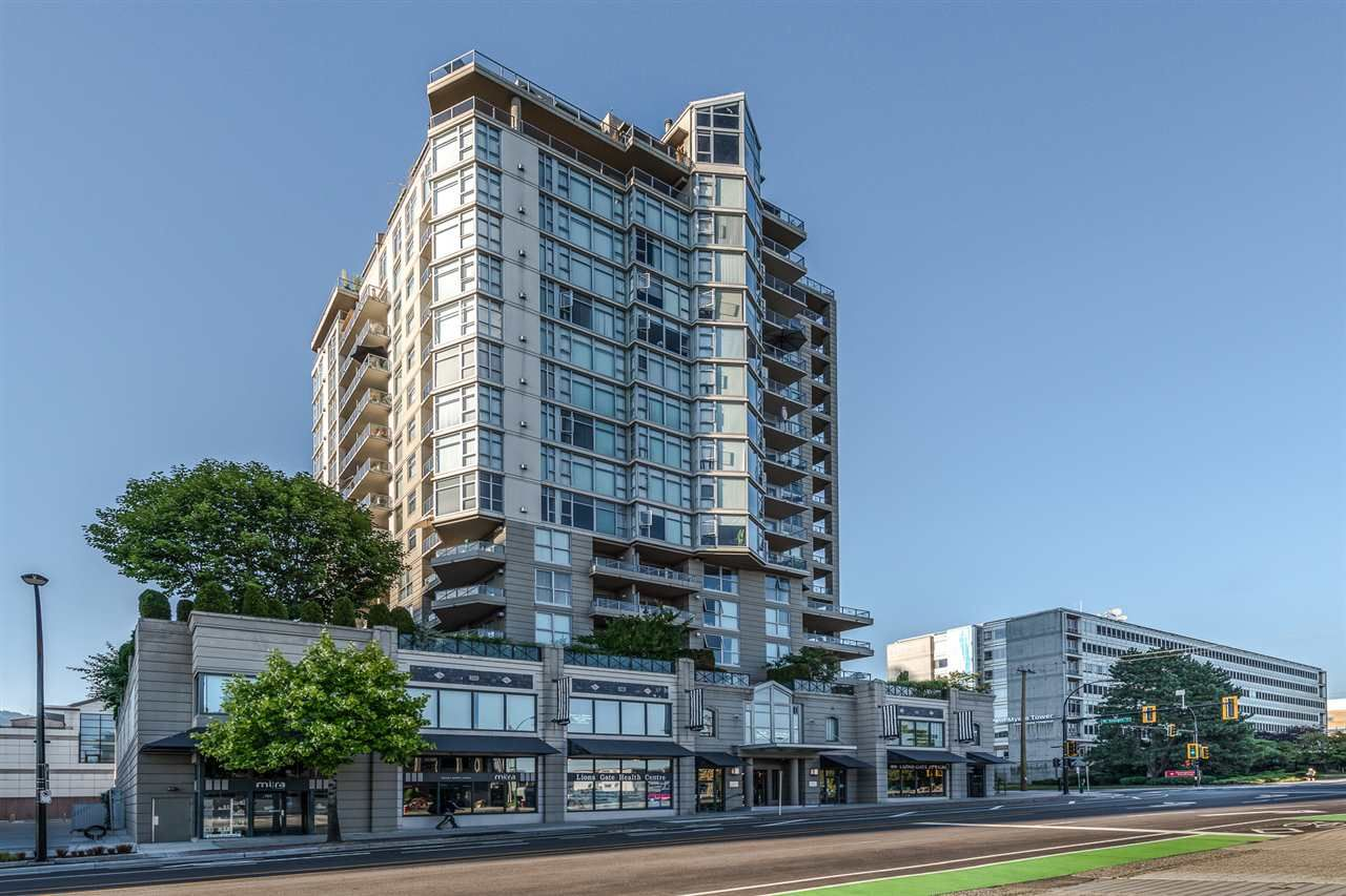 Main Photo: 1106 160 E 13TH Street in North Vancouver: Central Lonsdale Condo for sale : MLS®# R2298426