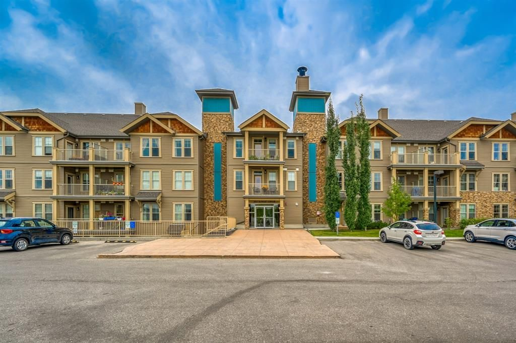 Main Photo: 221 207 Sunset Drive: Cochrane Apartment for sale : MLS®# A1055699