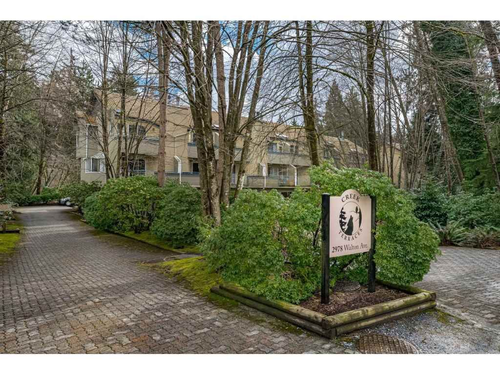 "Main Photo: 14 2978 WALTON Avenue in Coquitlam: Canyon Springs Townhouse for sale in ""Creek Terraces"" : MLS®# R2548187"