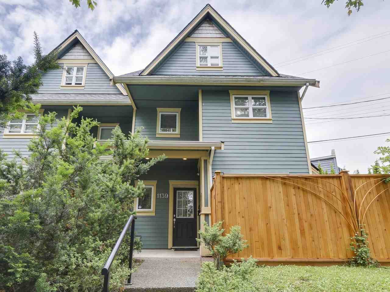 Main Photo: 1139 E 21ST Avenue in Vancouver: Knight 1/2 Duplex for sale (Vancouver East)  : MLS®# R2180419