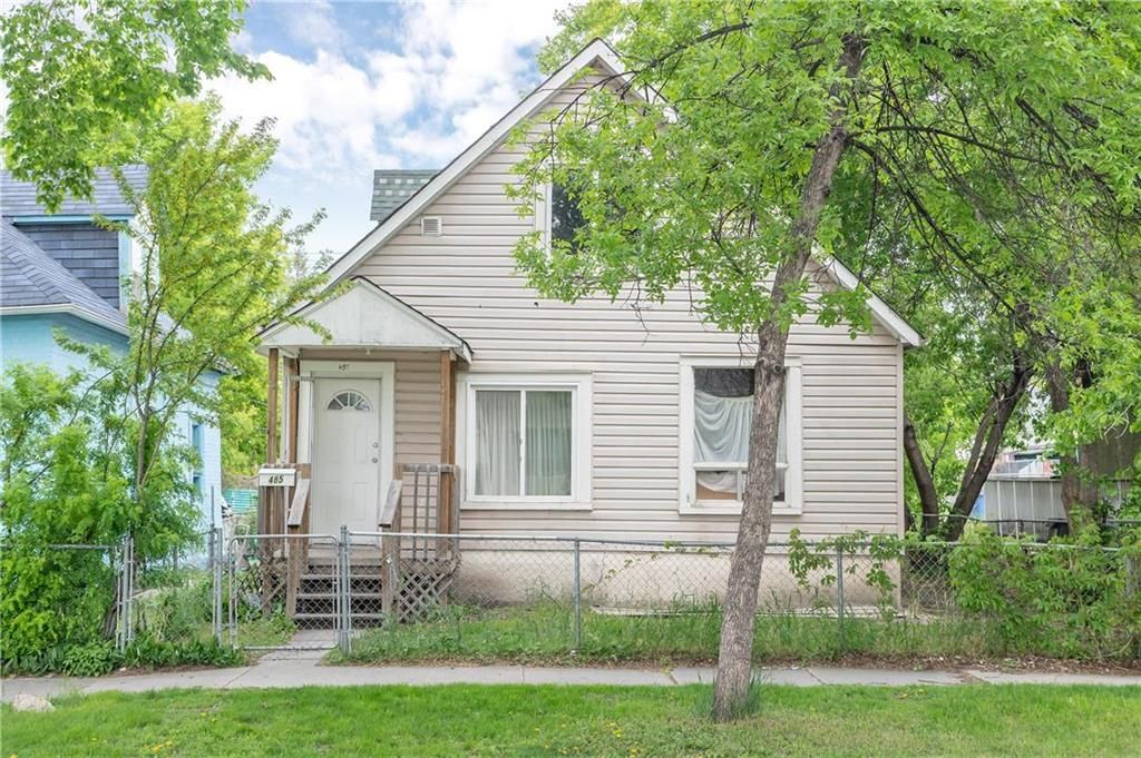 Main Photo: 485 Pritchard Avenue in Winnipeg: North End Residential for sale (4A)  : MLS®# 202113106