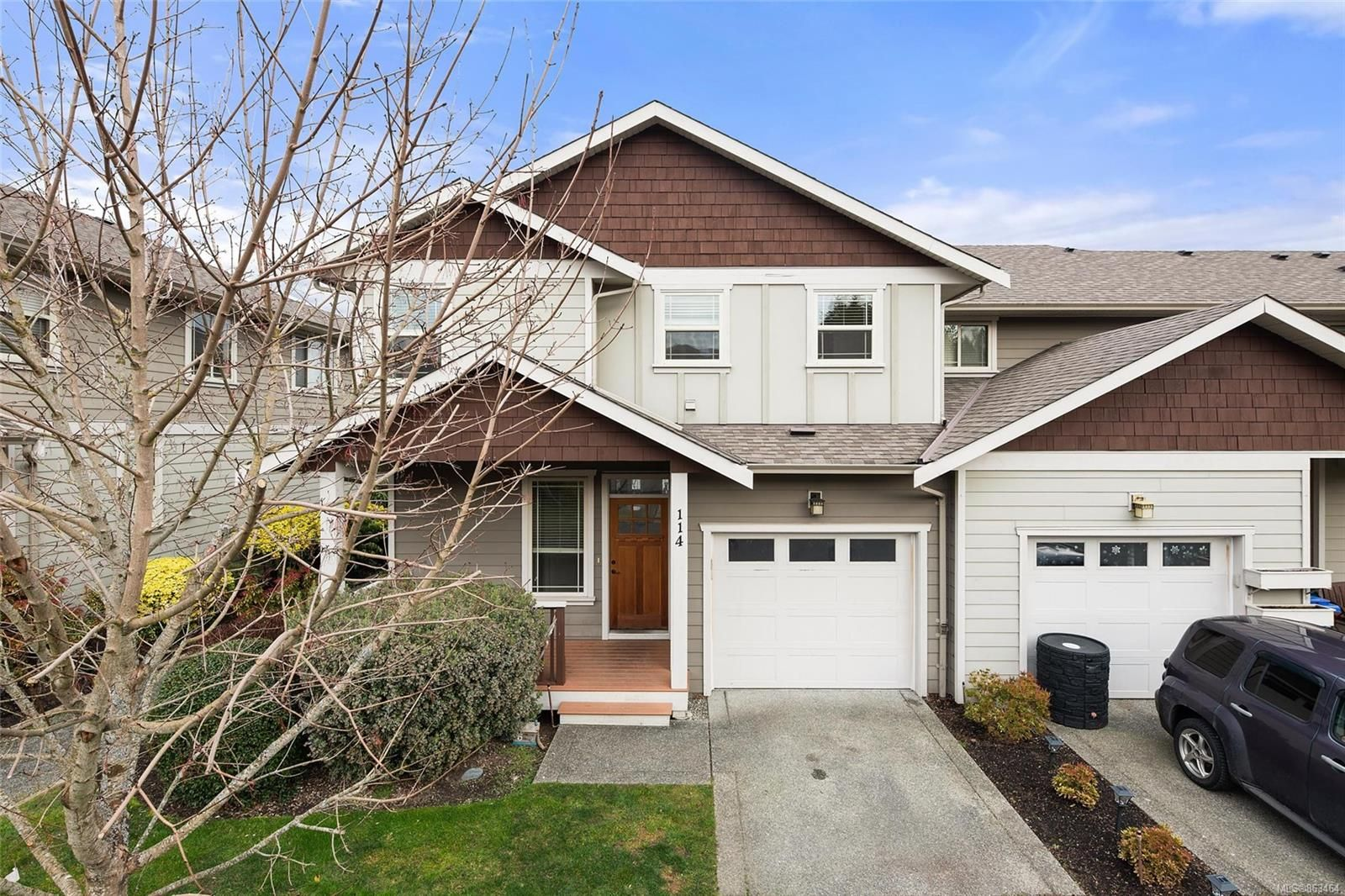 Main Photo: 114 6591 Arranwood Dr in : Sk Sooke Vill Core Row/Townhouse for sale (Sooke)  : MLS®# 863464