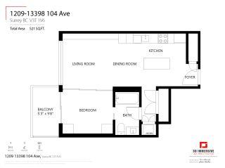 Photo 31: 1209 13398 104 Avenue in Surrey: Whalley Condo for sale (North Surrey)  : MLS®# R2480744
