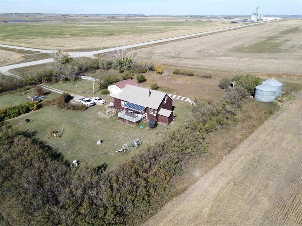 2.27 Acres Overview of property from above.
