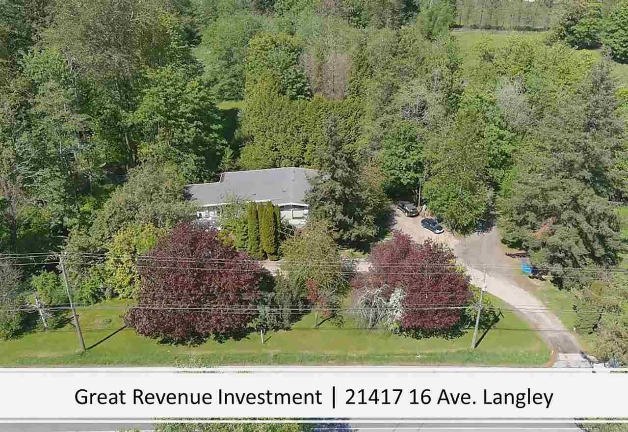 """Main Photo: 21417 16 Avenue in Langley: Campbell Valley House for sale in """"CAMPBELL VALLEY"""" : MLS®# R2579485"""