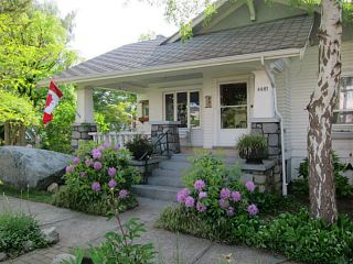 Photo 2: 4691 ST CATHERINES Street in Vancouver: Fraser VE House for sale (Vancouver East)  : MLS®# V1065824