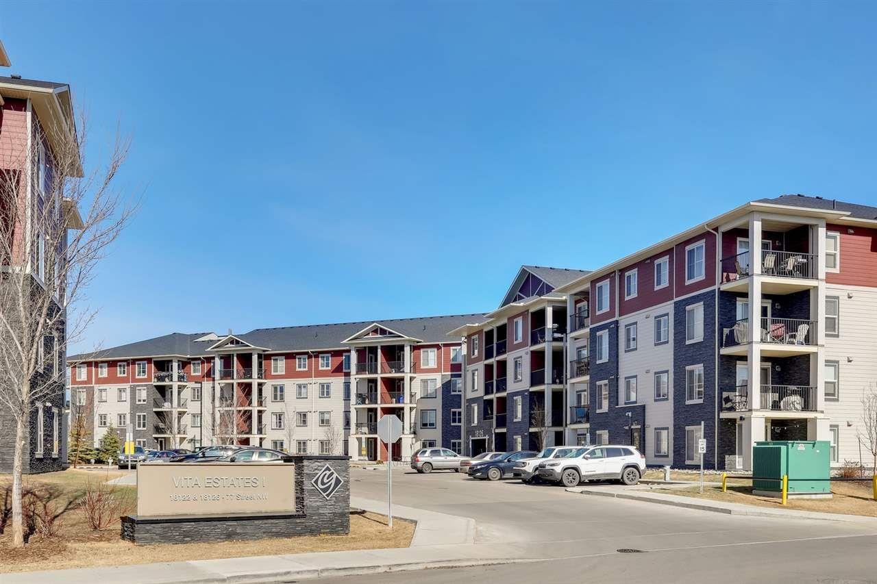 Main Photo: 219 18126 77 Street in Edmonton: Zone 28 Condo for sale : MLS®# E4252015