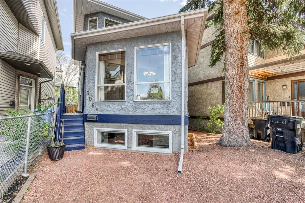 Main Photo: 606A 25 Avenue NE in Calgary: Winston Heights/Mountview Detached for sale : MLS®# A1109348