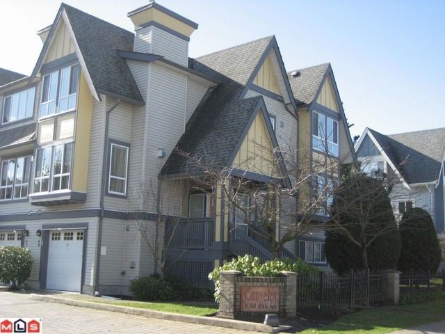 """Main Photo: 8 16388 85TH Avenue in Surrey: Fleetwood Tynehead Townhouse for sale in """"CAMELOT VILLAGE"""" : MLS®# F1206348"""