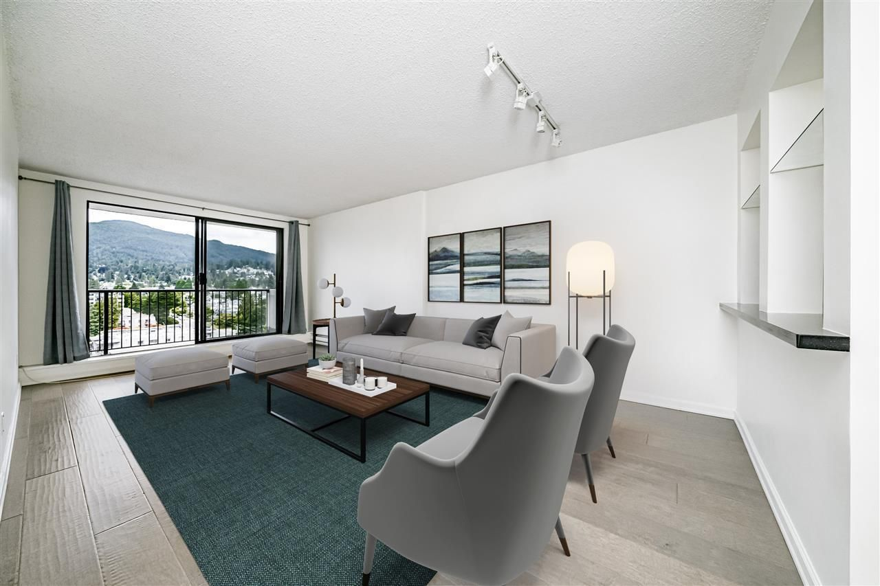 """Main Photo: 904 150 E 15TH Street in North Vancouver: Central Lonsdale Condo for sale in """"Lions Gate Plaza"""" : MLS®# R2583900"""