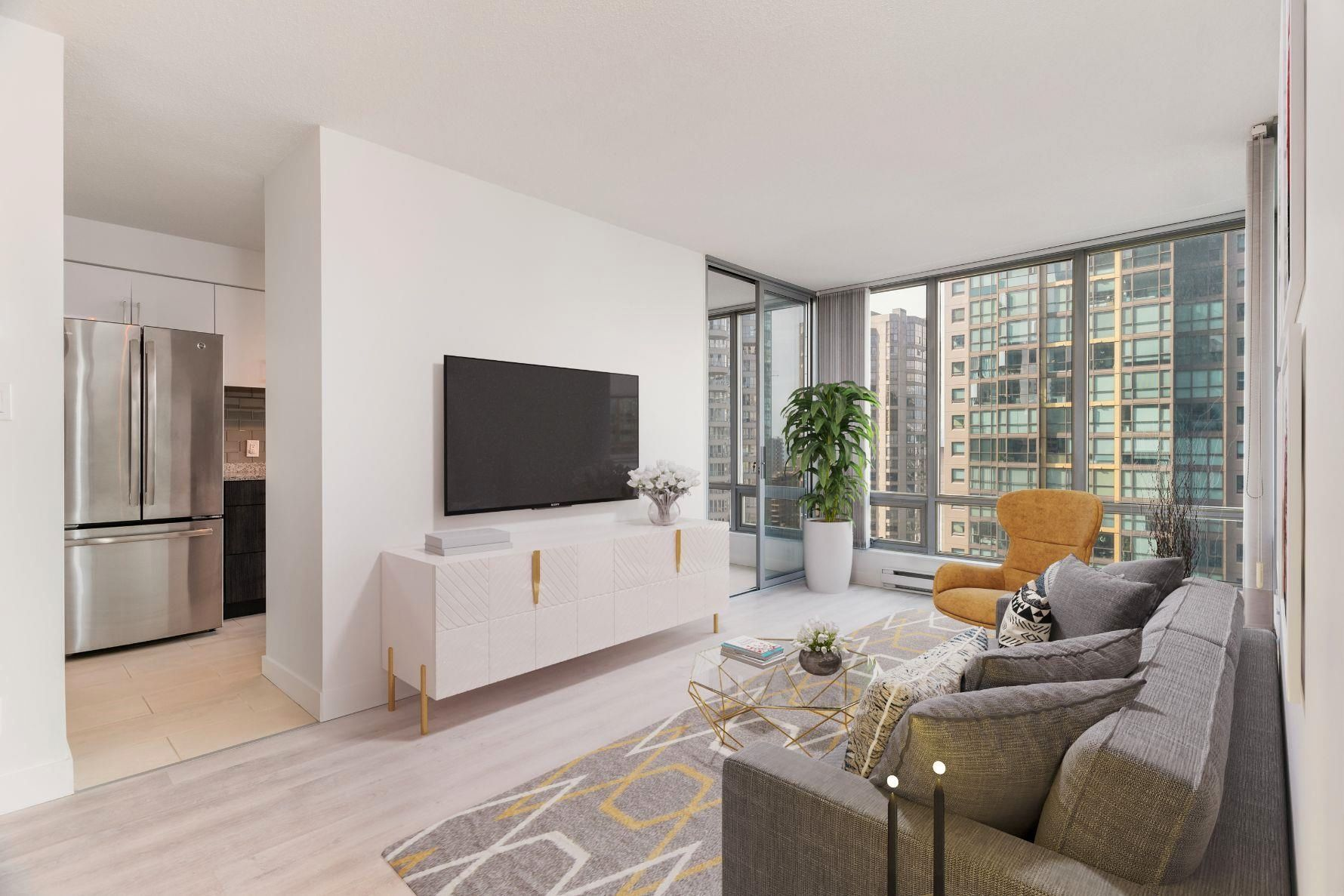"""Main Photo: 1902 1288 W GEORGIA Street in Vancouver: West End VW Condo for sale in """"RESIDENCES ON GEORGIA"""" (Vancouver West)  : MLS®# R2625011"""