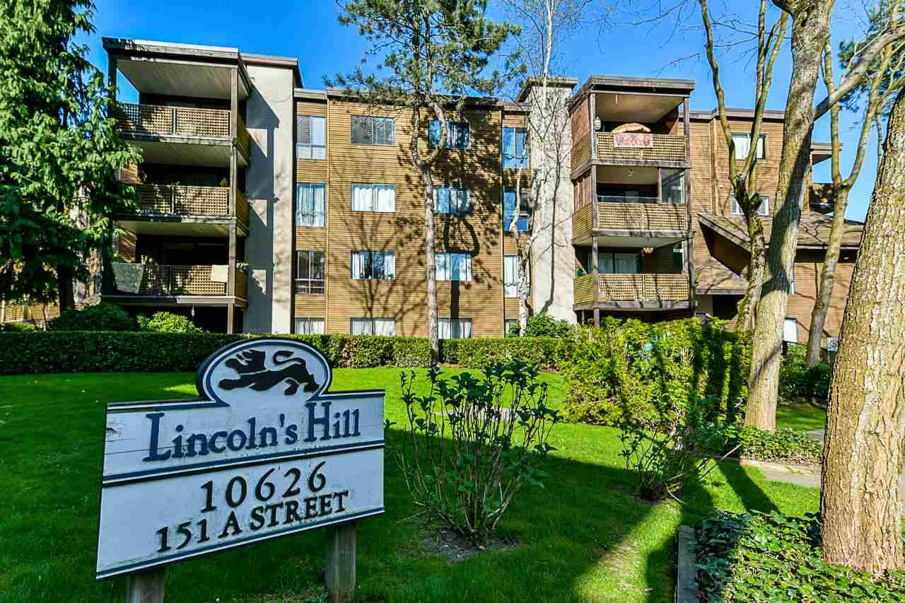 """Main Photo: 304 10626 151A Street in Surrey: Guildford Condo for sale in """"Lincoln's Hill"""" (North Surrey)  : MLS®# R2568099"""