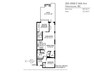 """Photo 16: 203 2008 E 54TH Avenue in Vancouver: Fraserview VE Condo for sale in """"Cedar 54"""" (Vancouver East)  : MLS®# R2339394"""