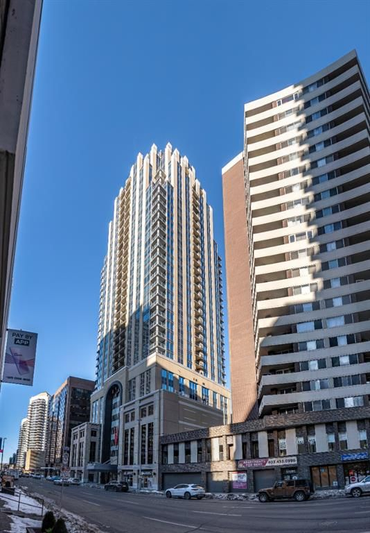 Main Photo: 2007 930 6 Avenue SW in Calgary: Downtown Commercial Core Apartment for sale : MLS®# A1108169