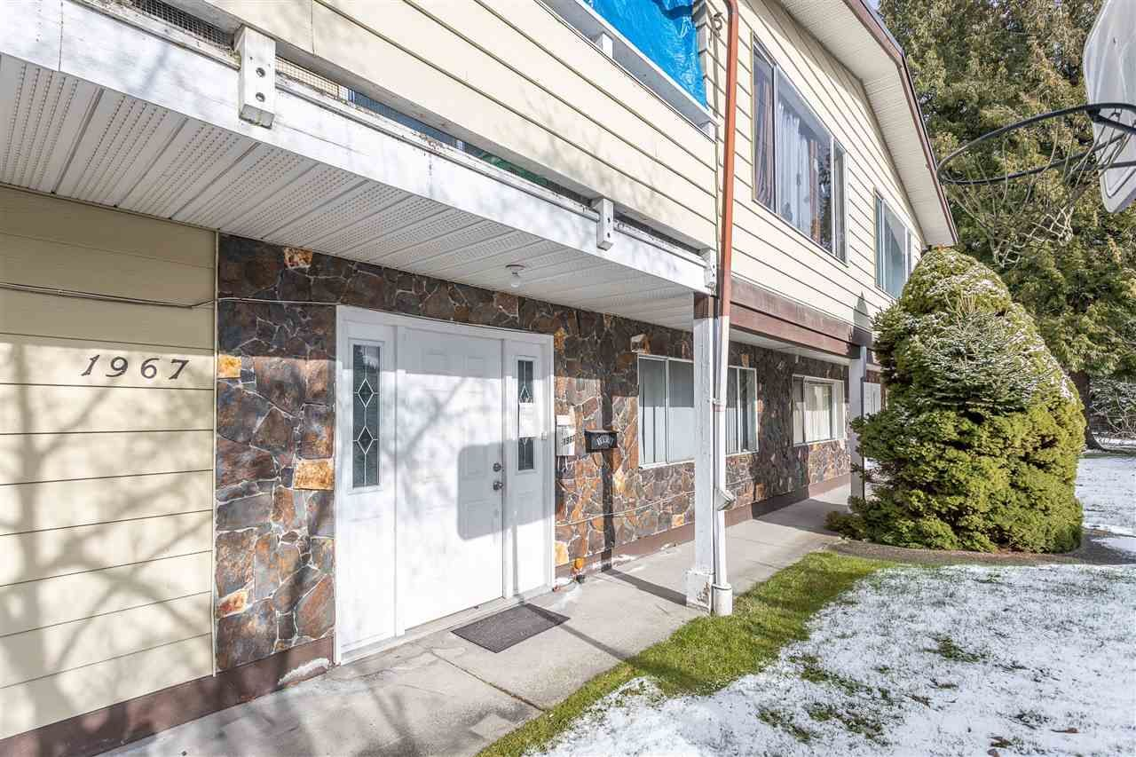 Main Photo: 1967 COMO LAKE Avenue in Coquitlam: Chineside Duplex for sale : MLS®# R2537358