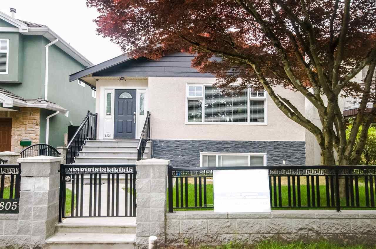 Main Photo: 6805 SHERBROOKE Street in Vancouver: South Vancouver House for sale (Vancouver East)  : MLS®# R2466550