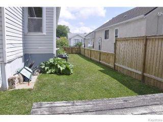 Photo 19: 870 Valour Road in WINNIPEG: West End / Wolseley Residential for sale (West Winnipeg)  : MLS®# 1519550
