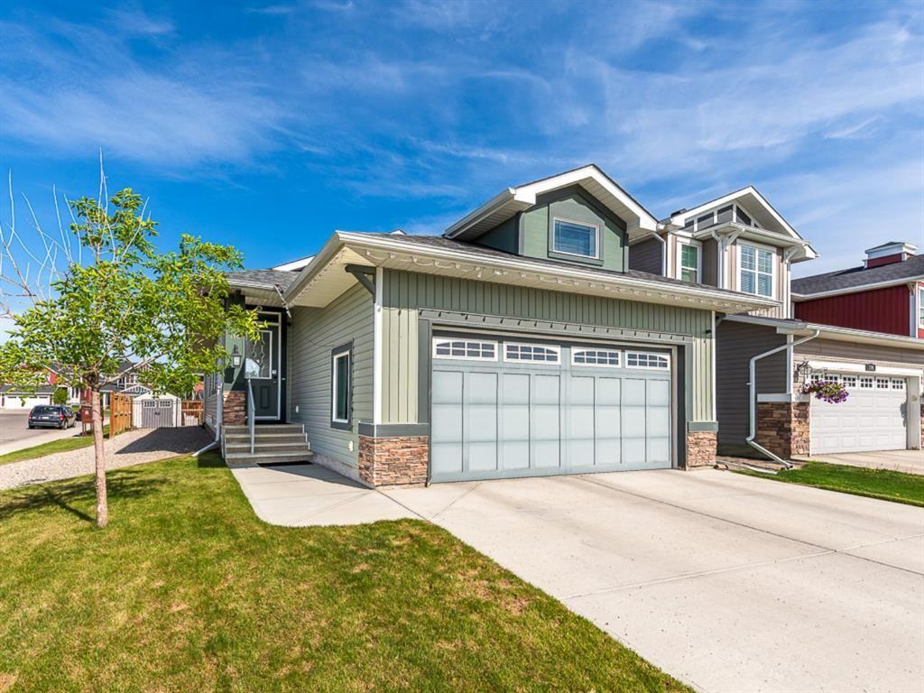 Main Photo: 110 Auburn Springs Boulevard SE in Calgary: Auburn Bay Detached for sale : MLS®# A1075702