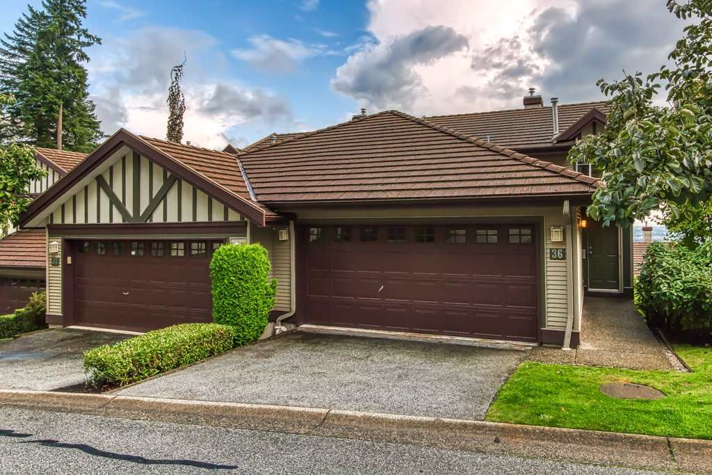 Main Photo: 36 1486 JOHNSON STREET in Coquitlam: Westwood Plateau Townhouse for sale : MLS®# R2417051