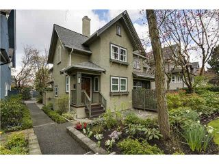 Photo 1: 185 W 13TH Avenue in Vancouver: Mount Pleasant VW Townhouse for sale (Vancouver West)  : MLS®# V1112969
