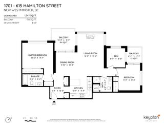 """Photo 34: 1701 615 HAMILTON Street in New Westminster: Uptown NW Condo for sale in """"The Uptown"""" : MLS®# R2607196"""