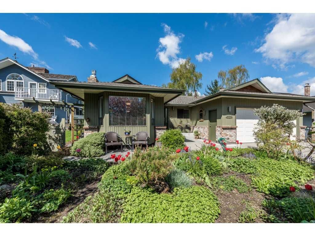 "Main Photo: 16063 13 Avenue in Surrey: King George Corridor House for sale in ""South Meridian"" (South Surrey White Rock)  : MLS®# R2159050"