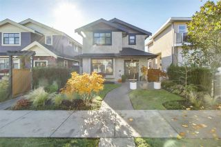 Photo 1: 4116 PANDORA Street in Burnaby: Vancouver Heights 1/2 Duplex for sale (Burnaby North)  : MLS®# R2228948