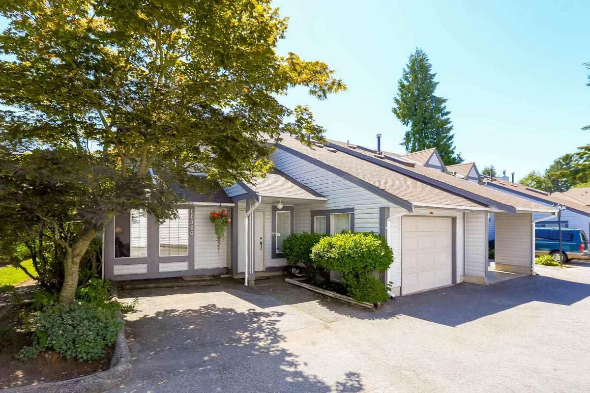 """Main Photo: 11946 90 Avenue in Delta: Annieville Townhouse for sale in """"Sunridge Estates"""" (N. Delta)  : MLS®# R2094398"""