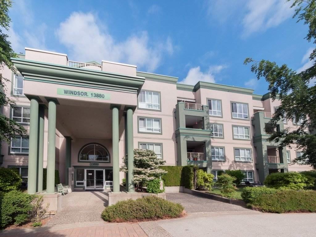 "Main Photo: 220 13880 70 Avenue in Surrey: East Newton Condo for sale in ""Chelsea Gardens"" : MLS®# R2288215"