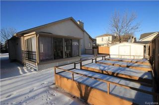Photo 20: 205 Barlow Crescent in Winnipeg: River Park South Residential for sale (2F)  : MLS®# 1729915