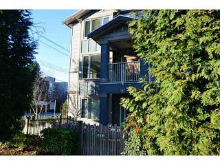 Photo 1: 1 7360 ST. ALBANS Road in Richmond: Brighouse South Townhouse for sale : MLS®# V1107140