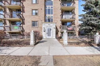 Main Photo: 207 1420 Memorial Drive NW in Calgary: Hillhurst Apartment for sale : MLS®# A1150696