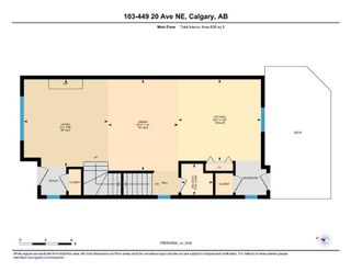 Photo 32: 103 449 20 Avenue NE in Calgary: Winston Heights/Mountview Row/Townhouse for sale : MLS®# A1010445