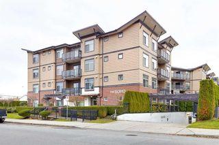 Photo 1: 208 8168 120A Street in Surrey: Queen Mary Park Surrey Condo for sale : MLS®# R2575821
