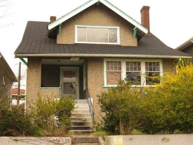 Main Photo: 2441 E 4TH AV in Vancouver: Renfrew VE House for sale (Vancouver East)  : MLS®# V879162