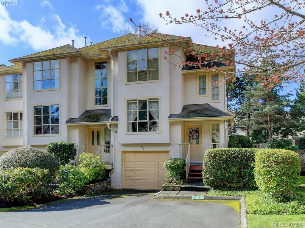 Main Photo: 206 510 Marsett Pl in VICTORIA: SW Royal Oak Row/Townhouse for sale (Saanich West)  : MLS®# 809516