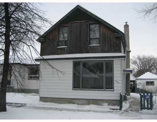 Main Photo: 933 ASHBURN Street in WINNIPEG: West End / Wolseley Residential for sale (West Winnipeg)  : MLS®# 2720077