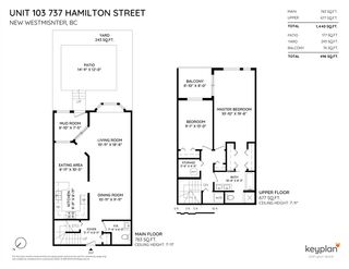 Photo 3: 103 737 HAMILTON STREET in New Westminster: Uptown NW Condo for sale : MLS®# R2403545