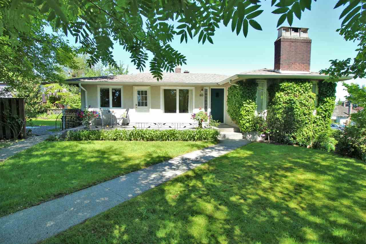 Main Photo: 819 CHILLIWACK Street in New Westminster: The Heights NW House for sale : MLS®# R2168673